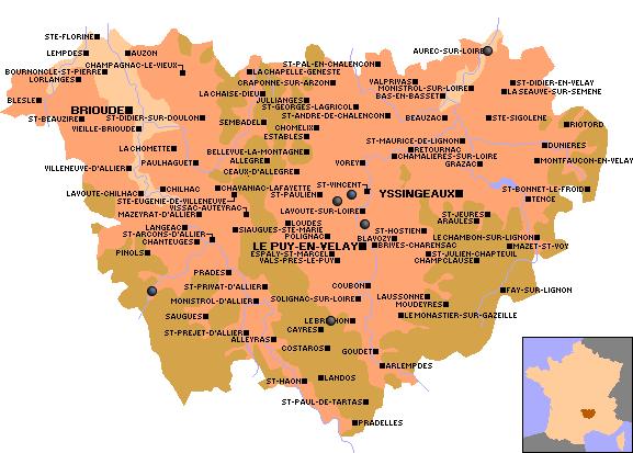 Departement Haute Loire Carte.Observations Migration 2014 Dans Le Departement Haute