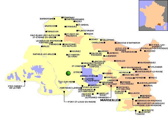 Observations migration 2009 dans le d partement bouches for Ca bouche du rhone