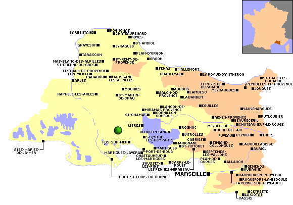 Observations migration 2011 dans le d partement bouches for Chambre des metiers bouche du rhone