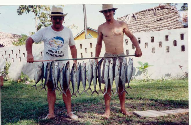 La base du repos la pêche le domaine de Bryansk
